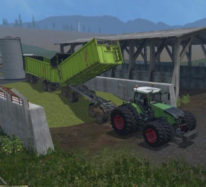 Fliegl 4 Achs Rear Tipper Trailer V 1 0 - Farming simulator 2019