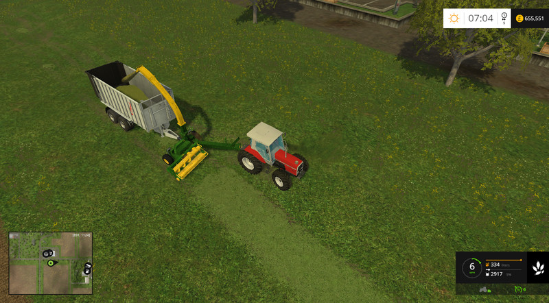 JohnDeere 3765 Trailed Forage Harvester V 2 0 LS15 - Farming