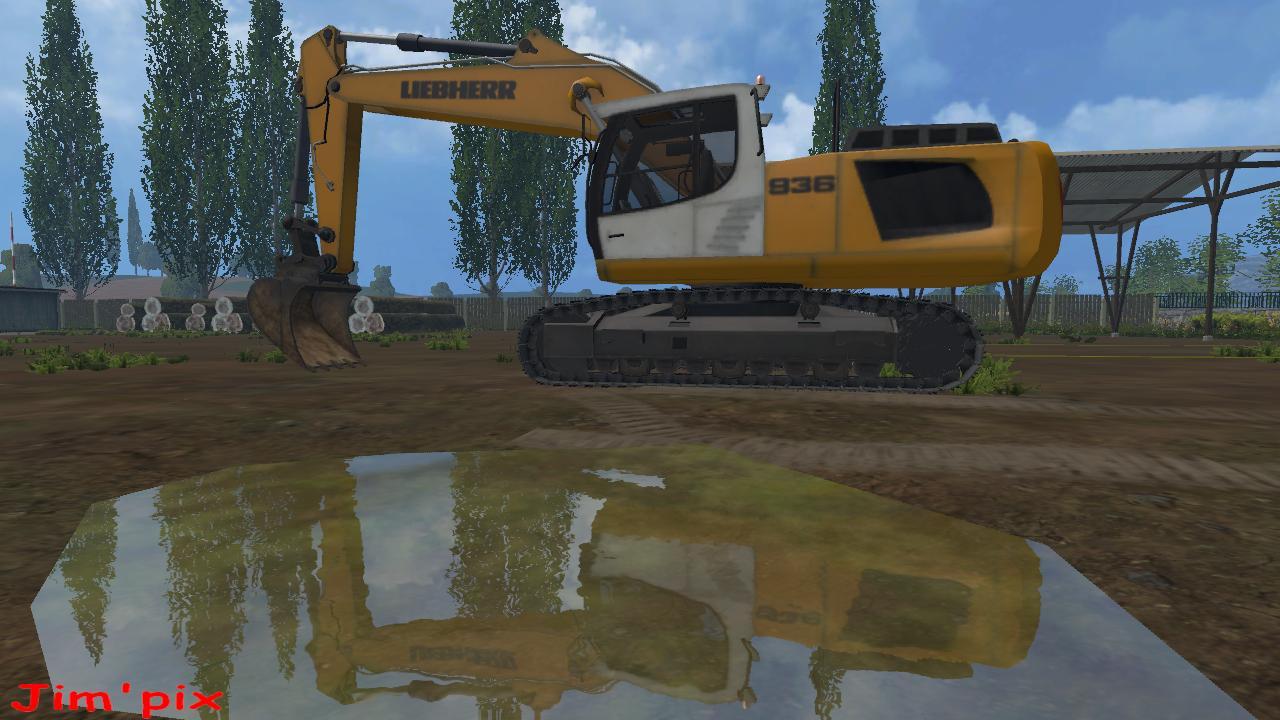 LIEBHERR 936 V1.0 FS15 - Farming simulator 2015 / 15 LS mod