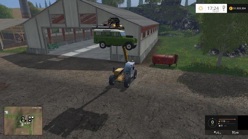 Liebherr Crawler Crane HS875HD V 1 0 FS15 - Farming