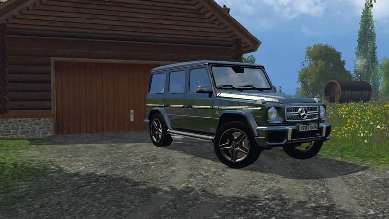 Mercedes benz g 65 amg v1 0 fs15 farming simulator 2019 for Mercedes benz route 17