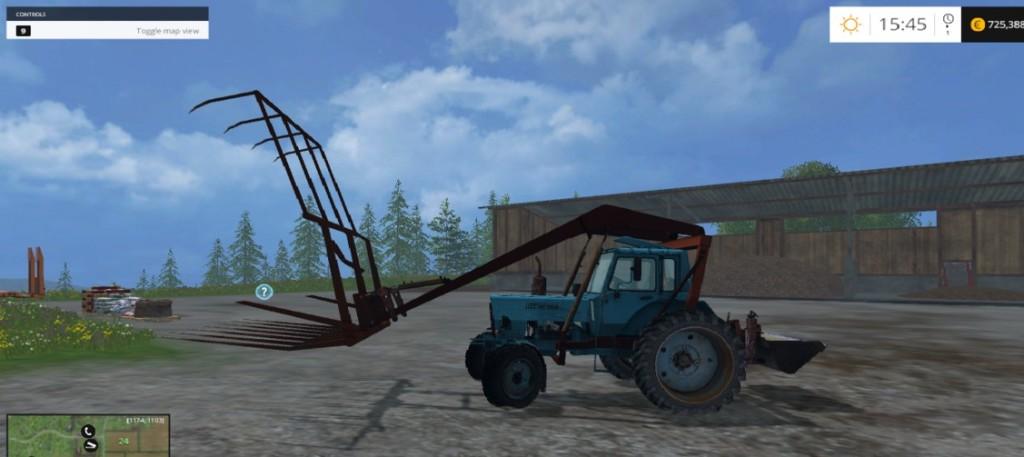 MTZ 80 Stogomet Tractor V2.0