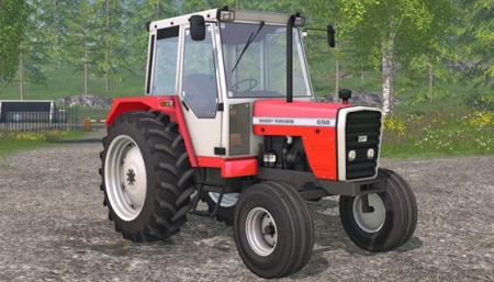 Massey Ferguson 698T FL Tractor v 1.0