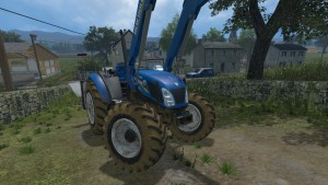 NewHolland T4 No Roof Tractor V 1 (1)