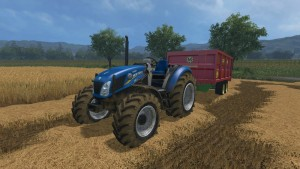 NewHolland T4 No Roof Tractor V 1 (2)