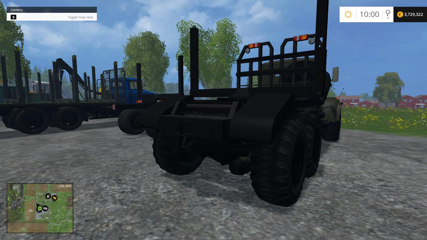 PACK FORESTRY EQUIPMENT for FS 2015 - Farming simulator 2019 / 2017