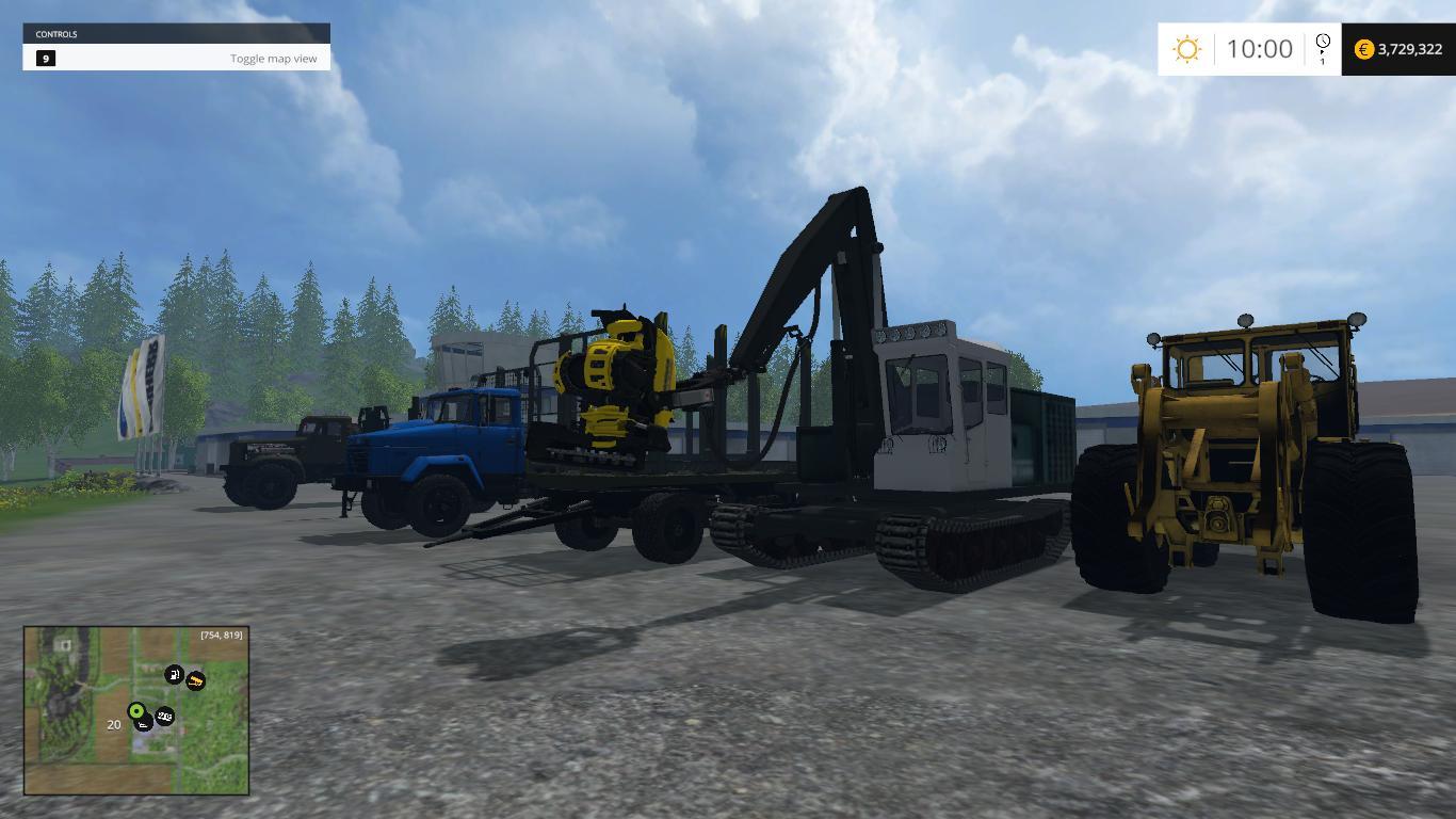 Mods forestry farming simulator 2015