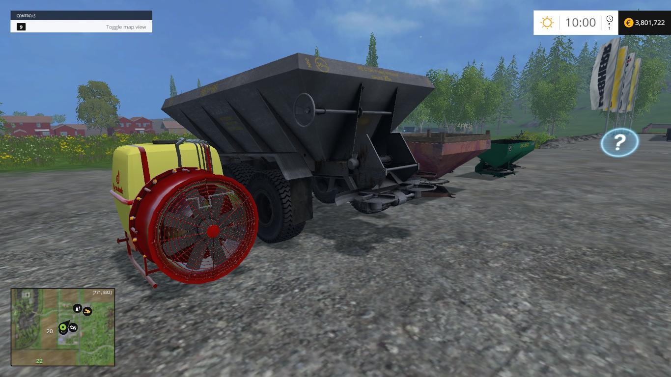 TECHNOLOGY PACK FERTILIZER V1 FS15 - Farming simulator 2019 / 2017