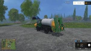 Unimog U400 WB Truck V 12 Mit Portalkran (1)