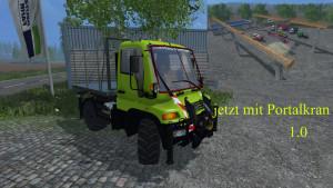 Unimog U400 WB Truck V 12 Mit Portalkran (10)