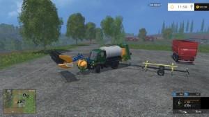 Unimog U400 WB Truck V 12 Mit Portalkran (2)