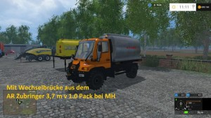 Unimog U400 WB Truck V 12 Mit Portalkran (21)