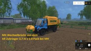 Unimog U400 WB Truck V 12 Mit Portalkran (23)