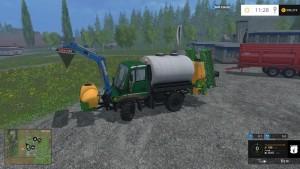 Unimog U400 WB Truck V 12 Mit Portalkran (5)