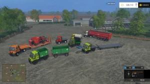 Unimog U400 WB Truck V 12 Mit Portalkran (7)