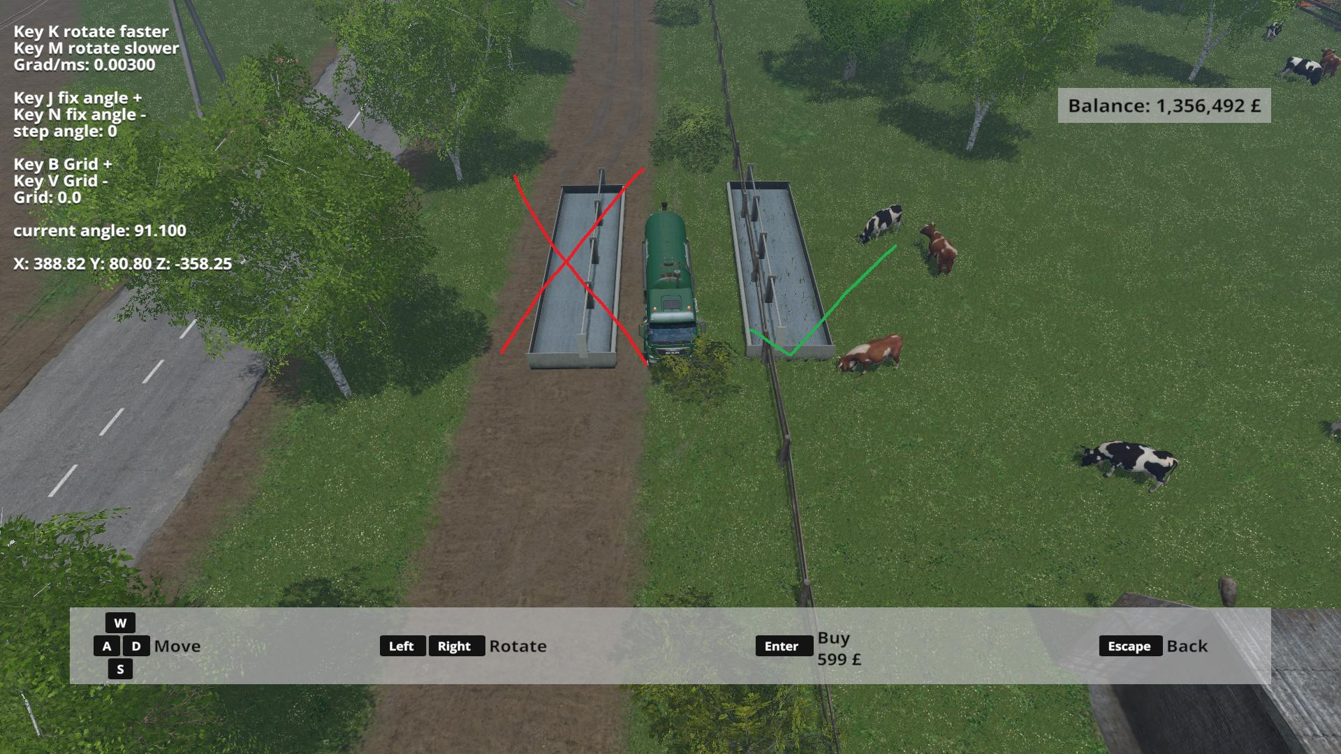 COW WATER MOD V FS Farming Simulator - Farming simulator 2015 us map feed cows
