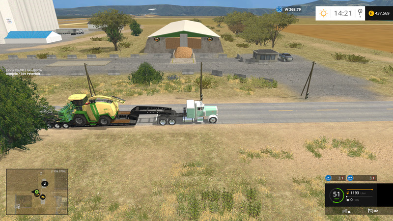 California Central Valley Map V 11 Farming simulator 2017