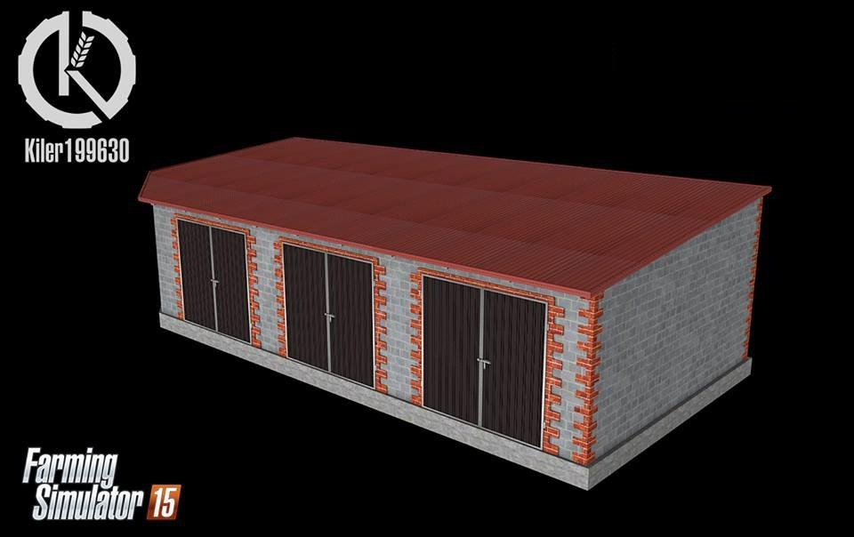 Garage For Machines V10 Mod Farming Simulator 2019 2017 2015 Mod