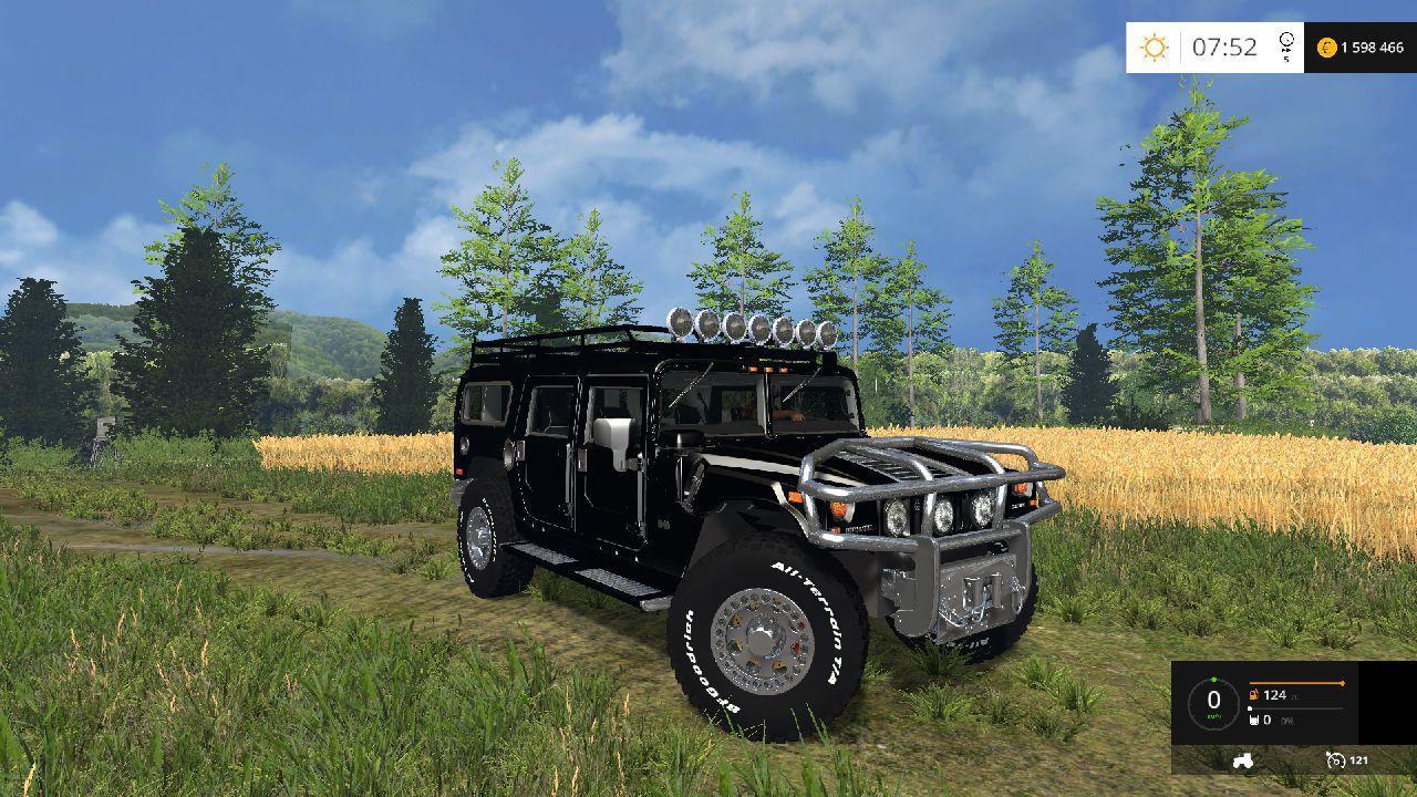 Hummer H1 Terminator V1 0 Car Farming Simulator 2019