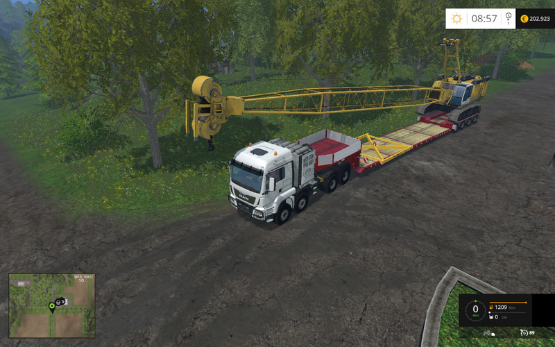 Hoisting Tool For Liebherr HS875 V 1 0 FS15 - Farming