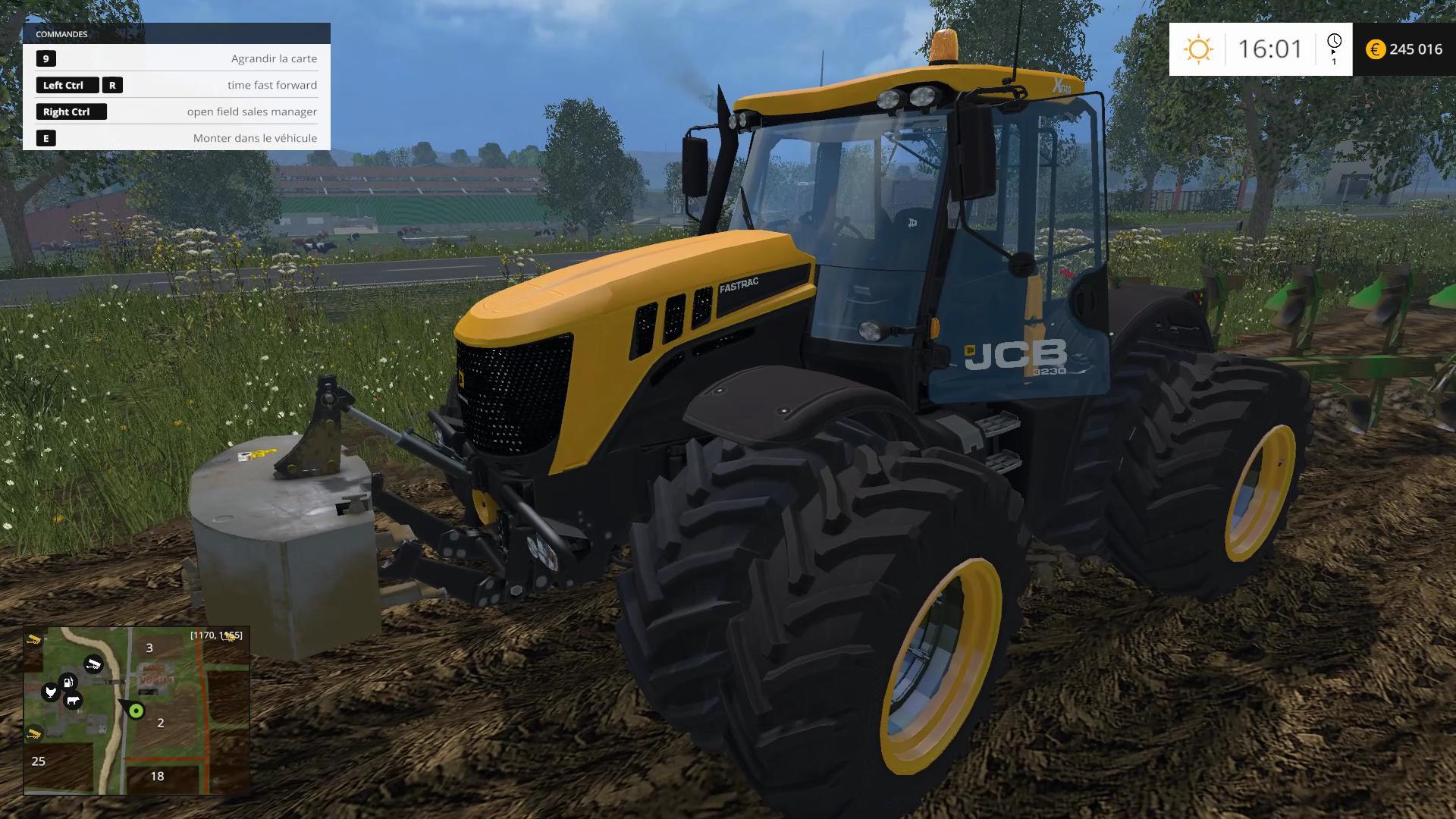 JCB FASTRAC 3220 V1 TRACTOR - Farming simulator 2019 / 2017 / 2015 Mod
