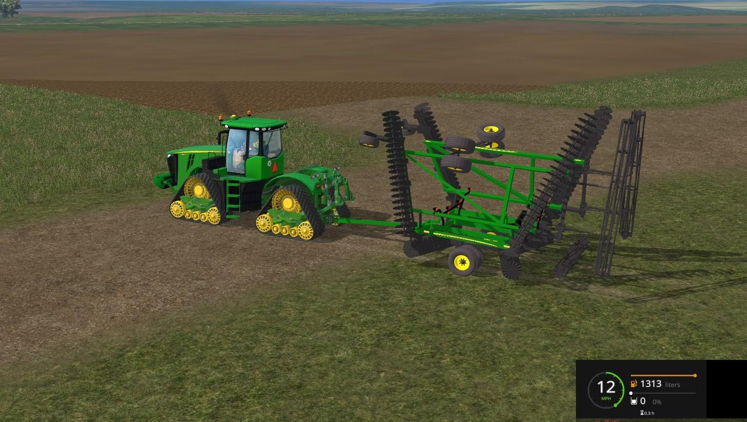 JD 2623VT DISK W/FLEX FINAL FS 2015 - Farming simulator 2019 / 2017