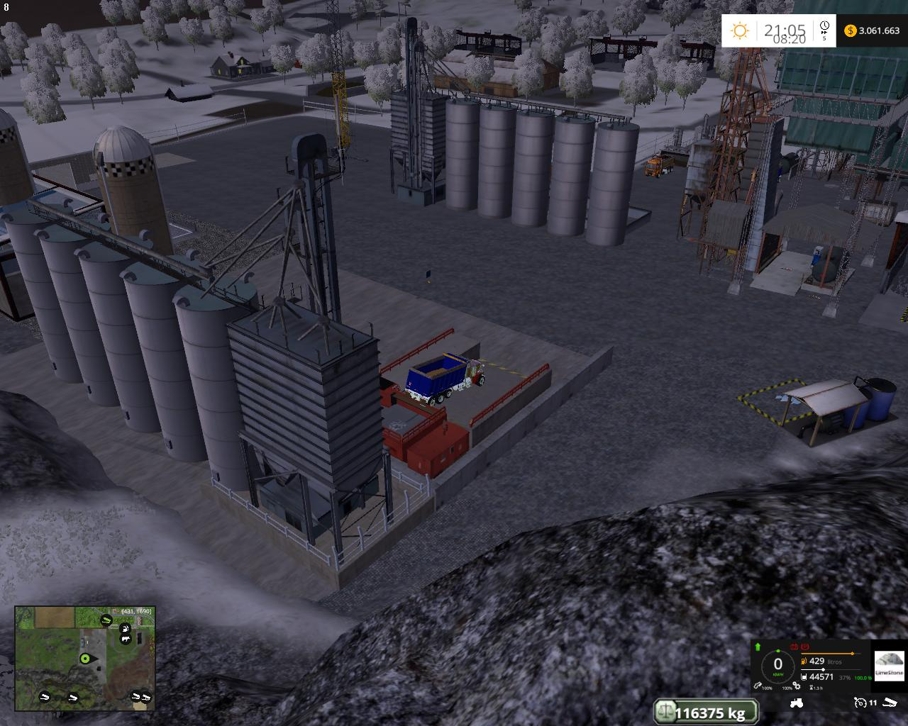 MINING CONSTRUCTION ECONOMY MAP V2 - Farming simulator 2019