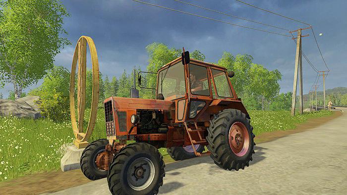 MTZ 82H v1.0 Tractor