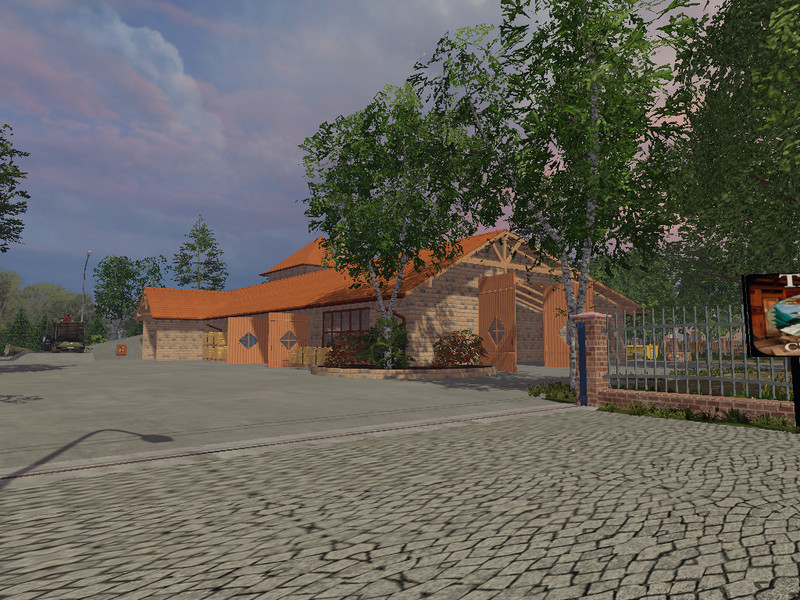 Model Sawmill V 2 0 Building - Farming simulator 2019 / 2017