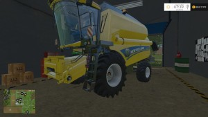 New Holland TC590 With Hardpoint Combine V 1.0 Beta (12)