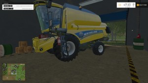 New Holland TC590 With Hardpoint Combine V 1.0 Beta (13)