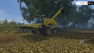 New Holland TC590 With Hardpoint Combine V 1.0 Beta (14)