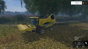 New Holland TC590 With Hardpoint Combine V 1.0 Beta (16)