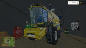 New Holland TC590 With Hardpoint Combine V 1.0 Beta (4)