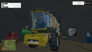 New Holland TC590 With Hardpoint Combine V 1.0 Beta (6)