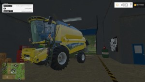 New Holland TC590 With Hardpoint Combine V 1.0 Beta (9)