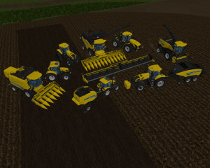 New Holland Yellow Set V 1.2 FS 2015 (1)