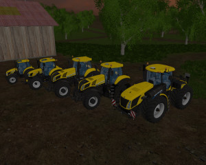 New Holland Yellow Set V 1.2 FS 2015 (2)