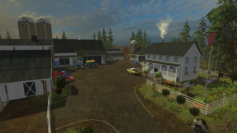 OGF USA MAP V Farming Simulator LS Mod - Fs15 us maps
