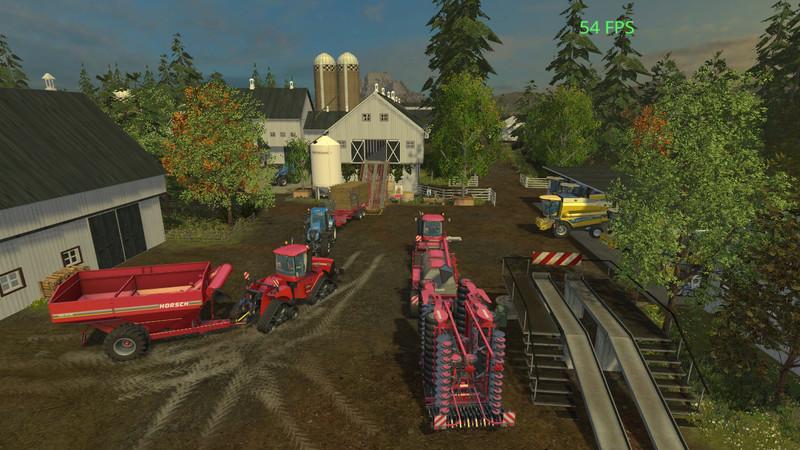 Farming Simulator 17 American Map.Ogf Usa Map V 1 0 Farming Simulator 2019 2017 2015 Mod