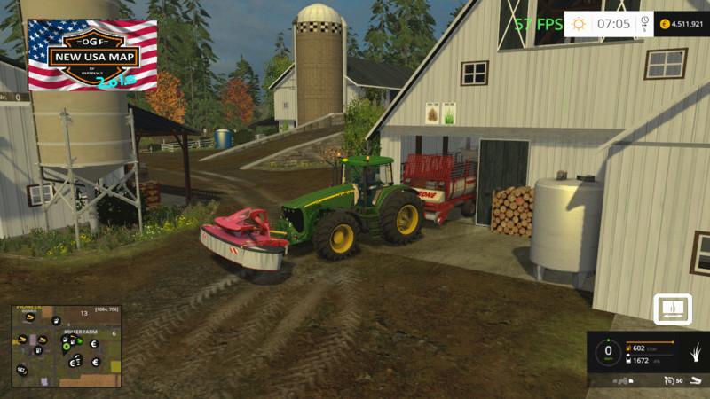 Ogf Usa Map V 10 Farming Simulator 2017 2015 15 17 Ls Mod: Us Maps For Farming Simulator At Infoasik.co