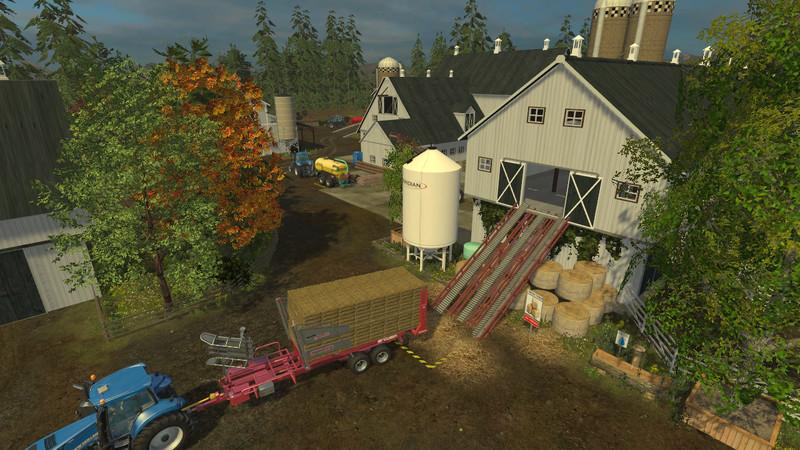 OGF USA MAP V Farming Simulator LS Mod - Us map mod fs 17