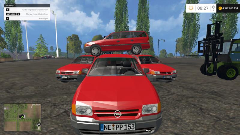 Opel Astra F Caravan Car 1 7 TD Club V 2 0 - Farming simulator 2019