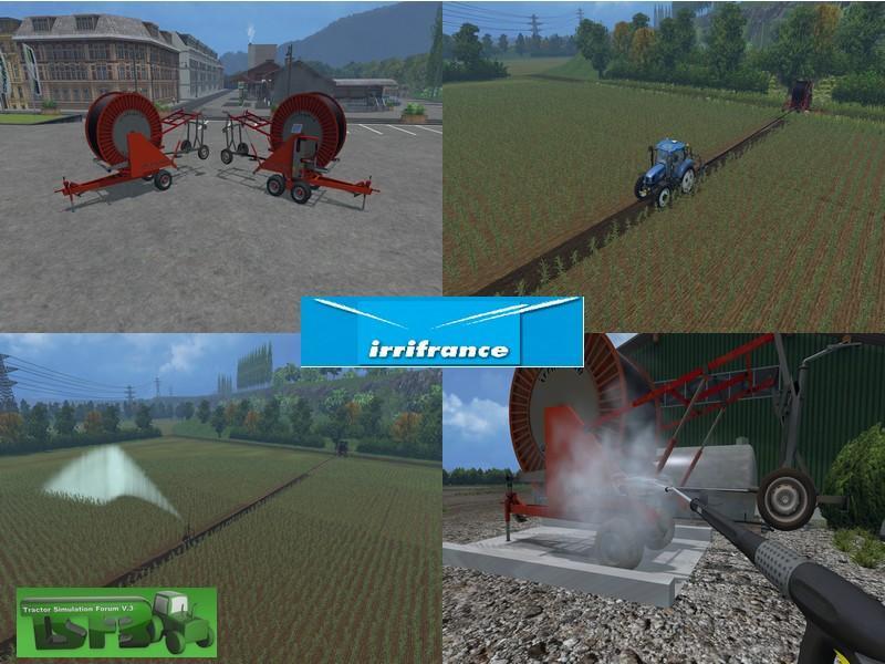 Pack Irrifrance Irrigators v1.2 LS15