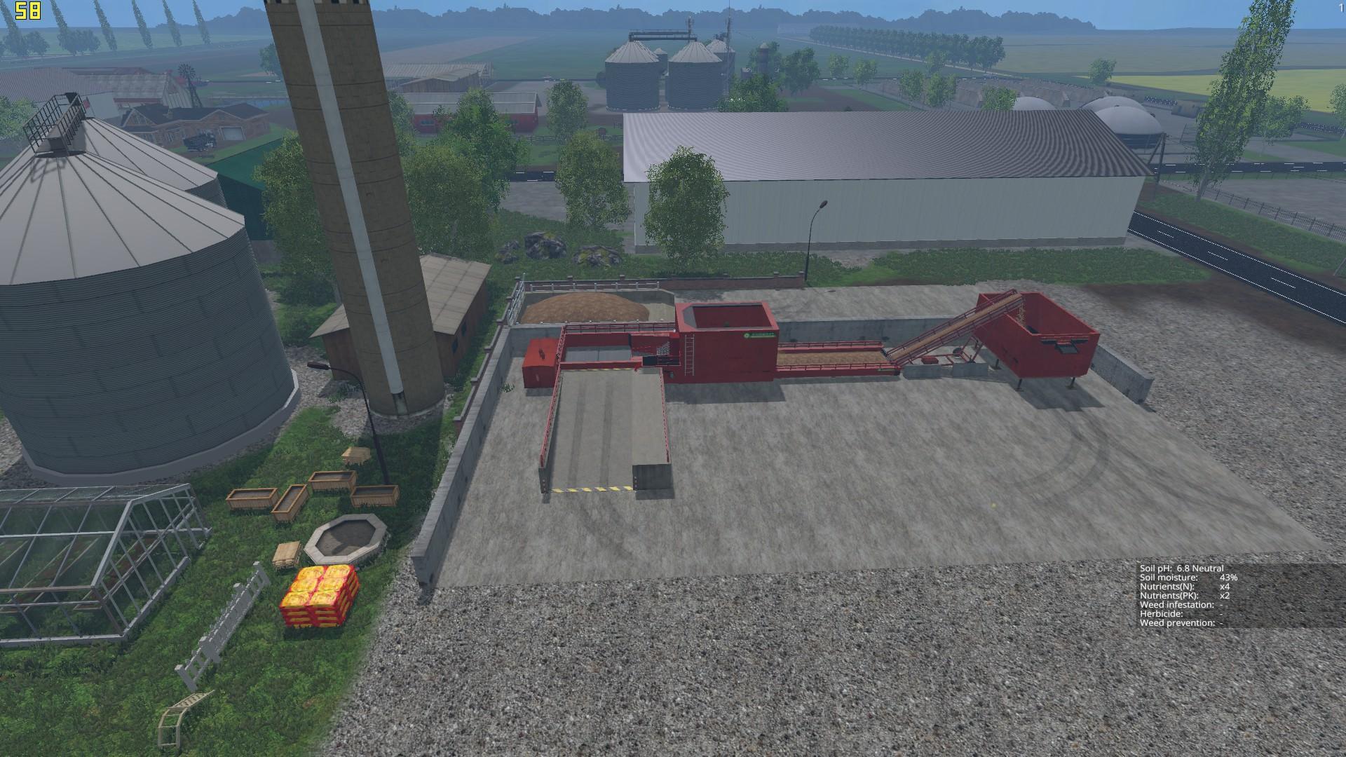 STATES MAP V Farming Simulator LS Mod - Farming simulator 2015 us map feed cows