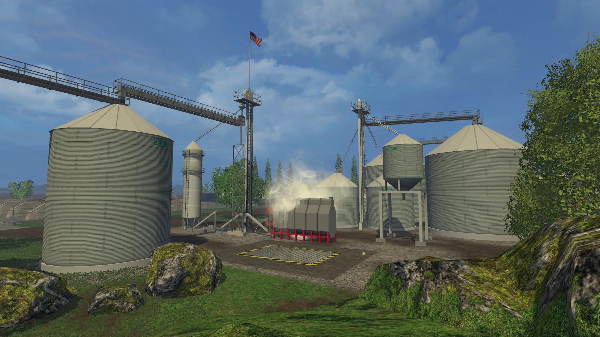 STATES MAP V8  Farming Simulator 2017  2015  15  17 LS Mod