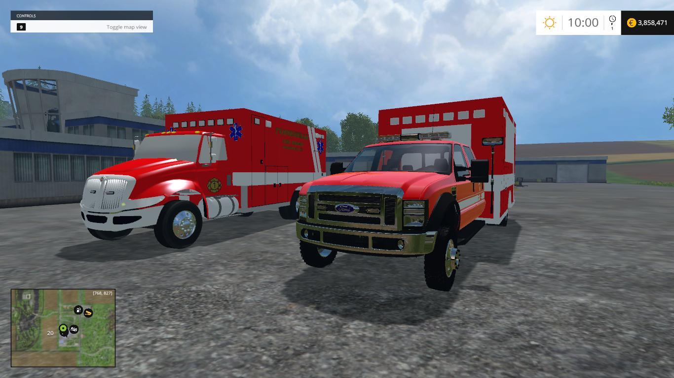 ls15 krankenwagen mods