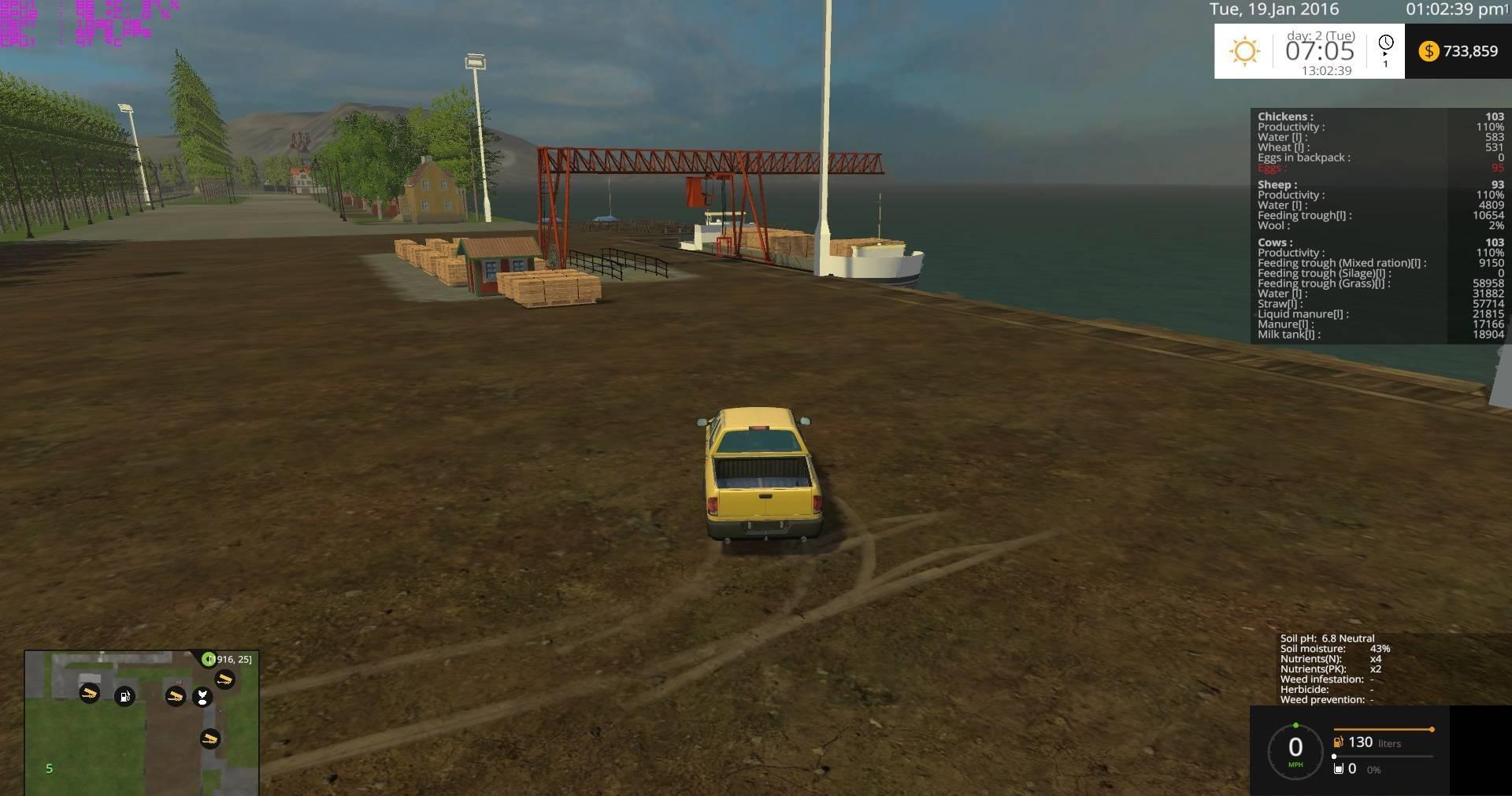 CANADIAN PRAIRIES MAP WITH SOILMOD V10 MOD Farming simulator