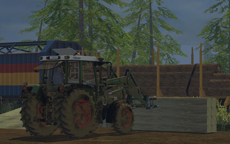 FENDT 380 GTA TURBO V1 LS15 - Farming simulator 2019 / 2017 / 2015 Mod