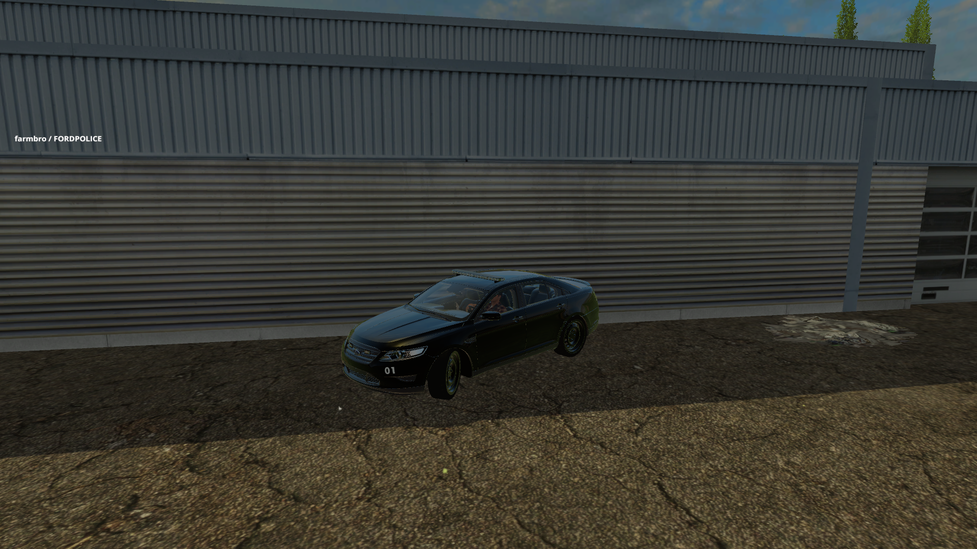 Ford Police Car FS 2015 - Farming simulator 2017 / 2015   15 / 17 LS ...